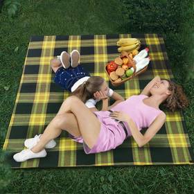 LARGE & THICK 3-Ply Waterproof Picnic Blanket Tote - Foldable Sports Outdoor Blanket